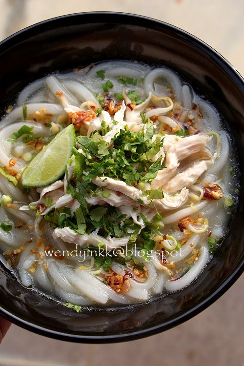 Khao Piak or Ka'piek is a chewy noodle, almost similar to the texture of udon, of which is made with wheat instead. For locals, we will ...