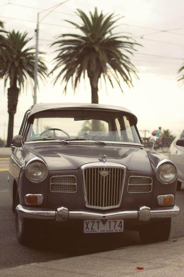 Vintage car, southside.
