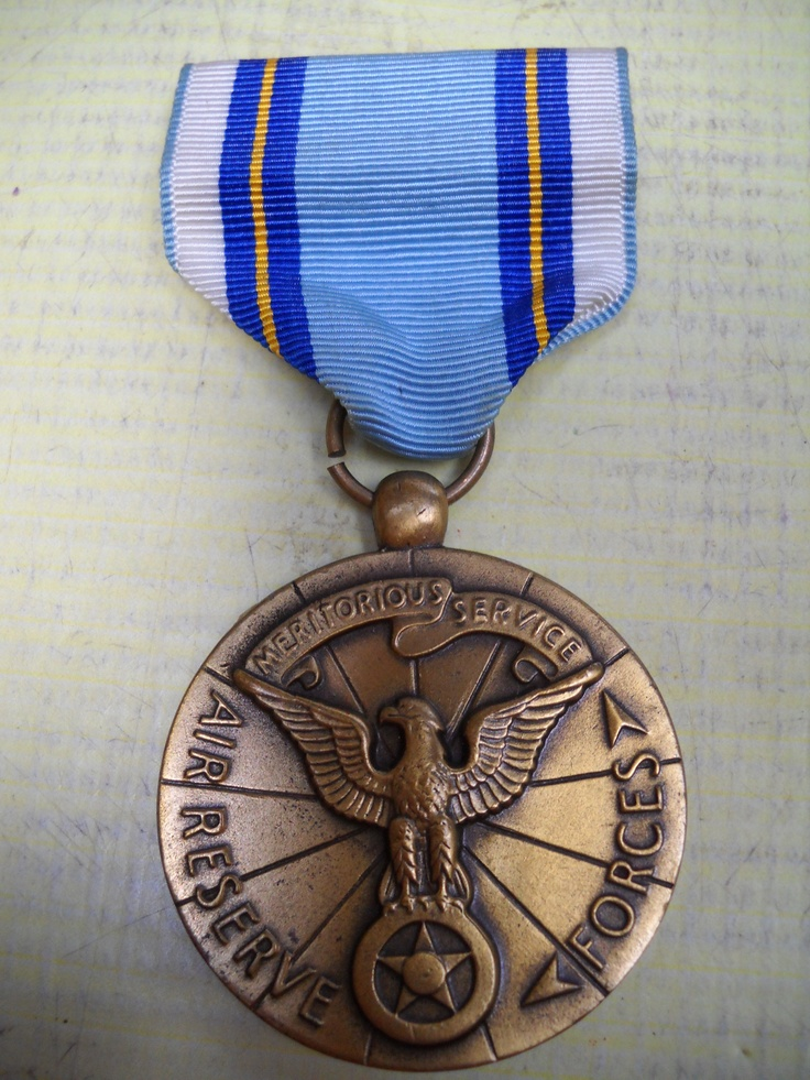 US: Air Force Reserve Meritorious Service Medal