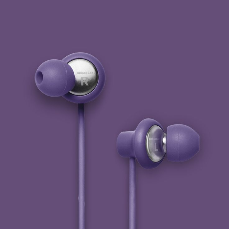 Urbanears Kransen Headphones in Lilac