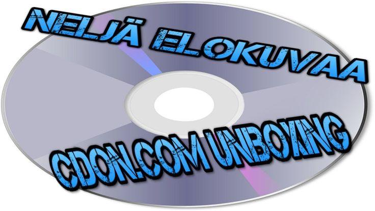 VBLOG: Mitä tilasin CDON.COM:sta (neljän elokuvan unboxing video)