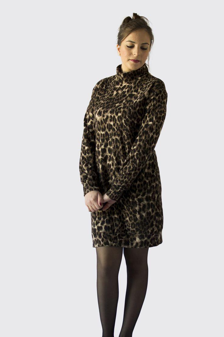 The Southbank Sweater Dress by Nina Lee London