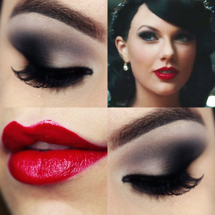 Taylor Swift Wildest Dreams Makeup Tutorial – Maquiagem Smokey Eyes