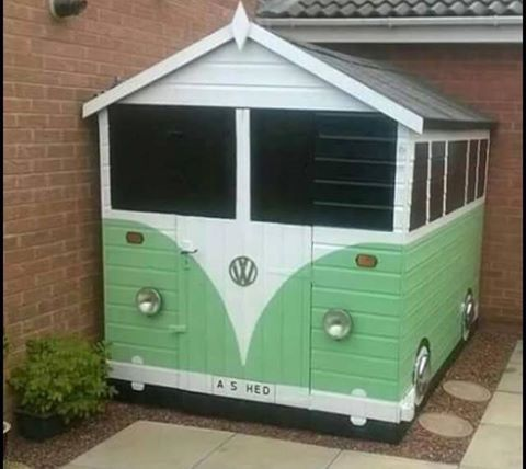 Oh yeah! VW shed! (bus barn?) lol