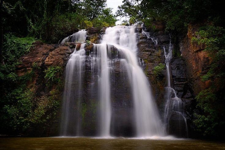 Tanougou waterfall, Atakora, northern Benin