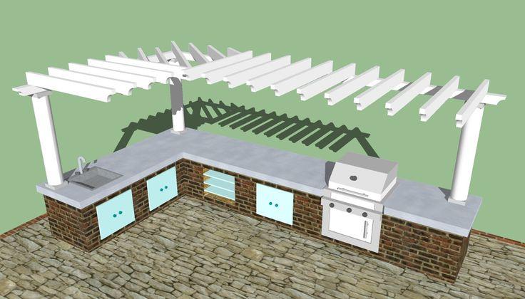 22 plain outdoor kitchen design plans they design in Outdoor kitchen plans 17+ Ideas about Outdoor Kitchen Plans