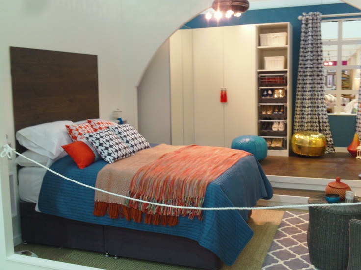 Ideal Home Magazine stand at the Ideal Home Show March 2013. #bed #bedroom