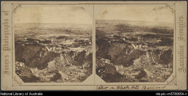 View from Black Hill, Ballarat, Victoria, ca. 1865 [picture].