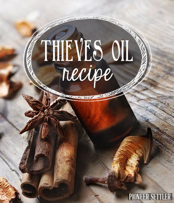 The Homesteader's Secret Thieves Oil Recipe