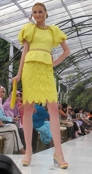 dress by Sebastian Gunawan