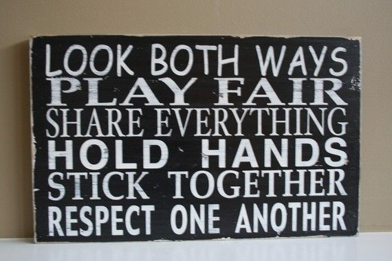 Play room rules to live by