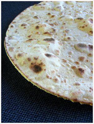Tortillas mexicaines à la farine de pois chiches