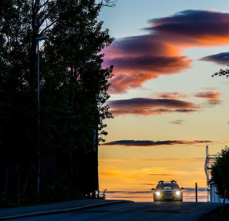 Sunset in Trondheim  by Aziz Nasuti on 500px