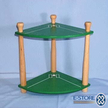 Baseball Themed 2 Tier Shelf