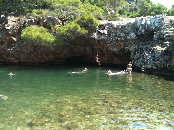 Isla de Lokrum en Dubrovnik