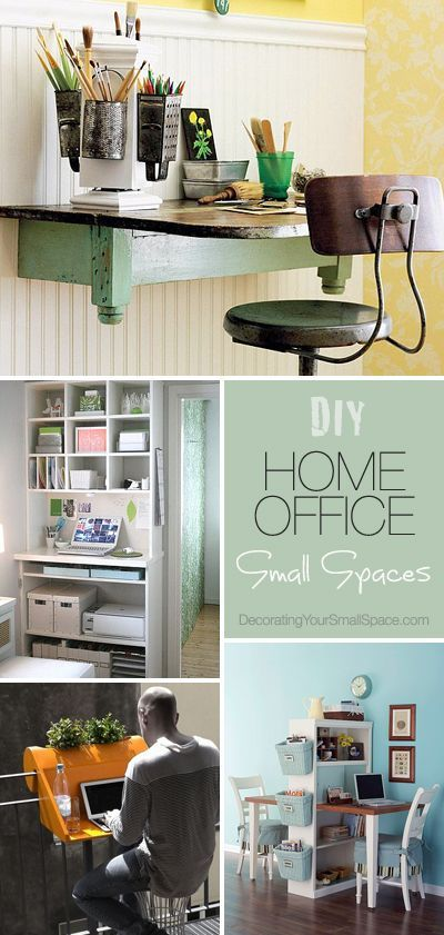 43 best images about future office on pinterest cabinets offices and office decor - Small space offices pict ...