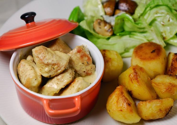 Recept: Kip in mosterdsaus