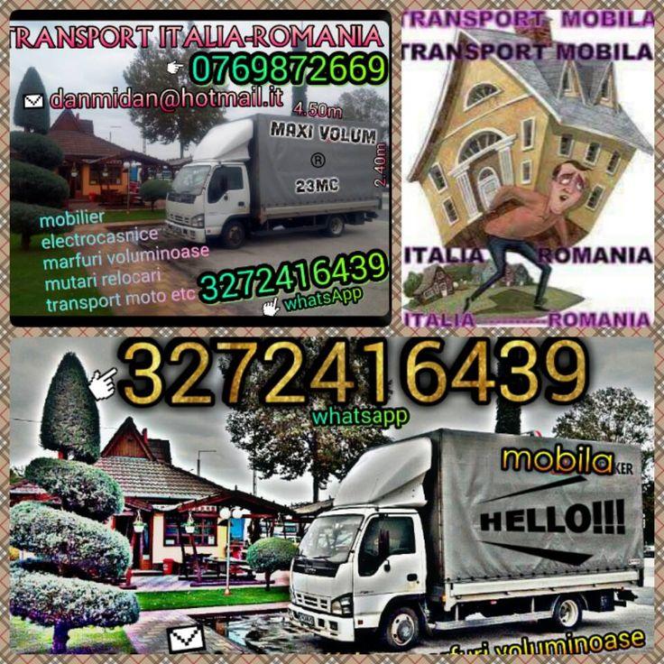 transport italia romania mobila: transport mobila Italia Romania traslochi