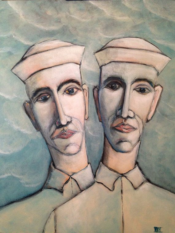 Male Portrait , Portrait Painting , Sailor , Seaman , Wil Shepherd , Fine Art , Male Portraiture , Painting , Wil Shepherd Studio , Original