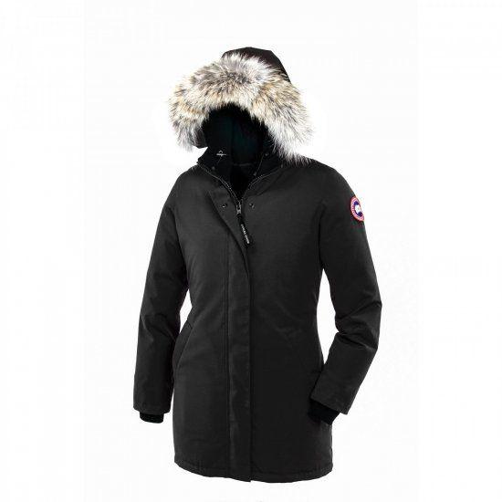 Canada Goose Victoria Parka Black Womens [CG184] - $270.00 :