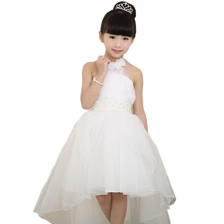 $14.35 (Buy here: https://alitems.com/g/1e8d114494ebda23ff8b16525dc3e8/?i=5&ulp=https%3A%2F%2Fwww.aliexpress.com%2Fitem%2FWhite-Wedding-High-Low-Formal-Birthday-Pompon-Veil-Dress-For-Baby-Girl-3-12-Years-Old%2F32738561382.html ) Girls White Wedding Dress Birthday High Low Formal Pompon Veil For Baby Girl 4-12 Years Old Stage/Party Princess Evening Dress for just $14.35