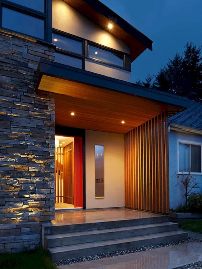 80 Exterior House Porch Inspirations With Stone Columns