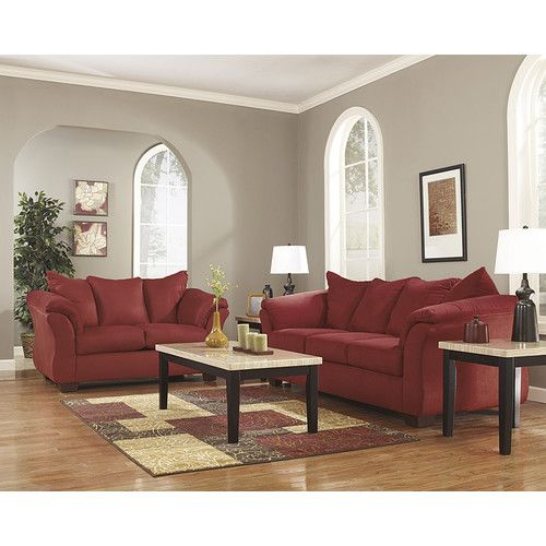 Flash Furniture Darcy 2 Piece Signature Design by Ashley Living Room Set & Reviews | Wayfair