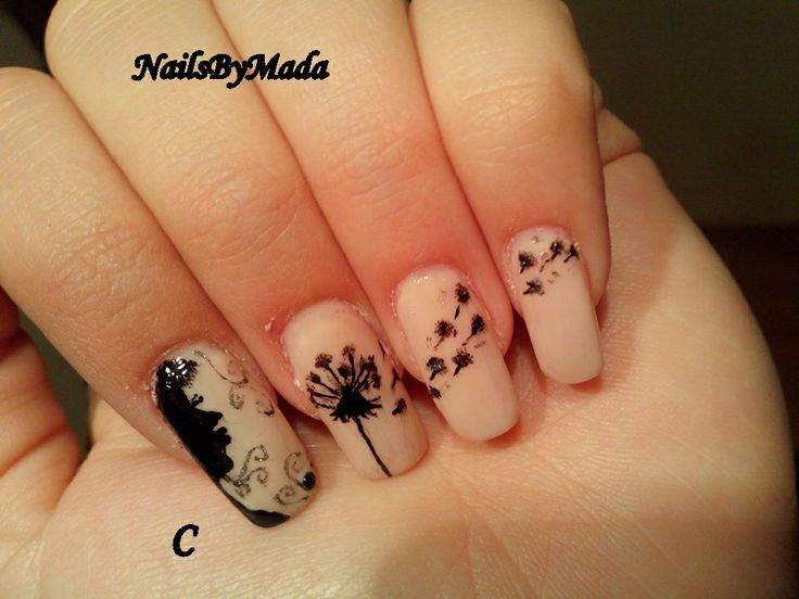 NailsByMada: Girl with dandelion