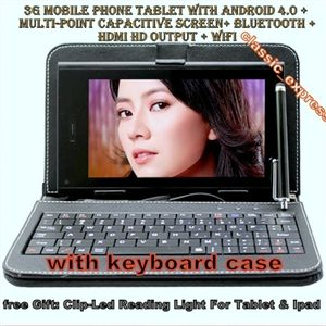 """A10 7"""" Android 4.0 5-Touch Tablet PC Capacitive,1GB 8GB"""