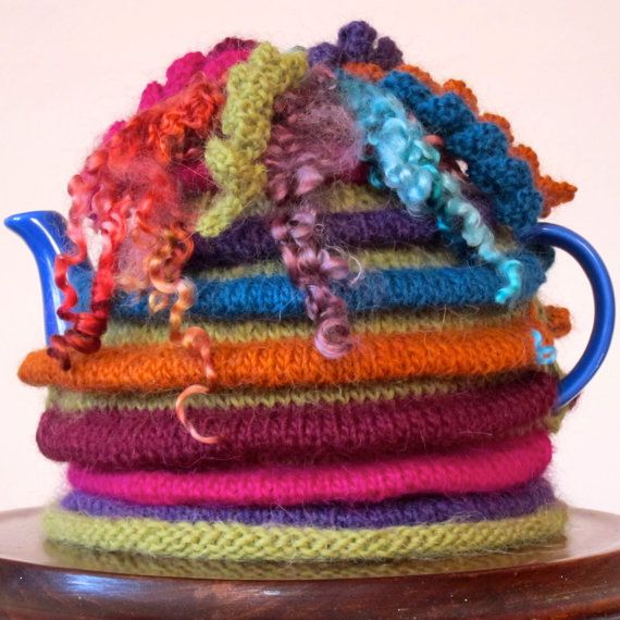 Wensleydale Tea Cosy KNITTING PATTERN from by JeanMossHandknits