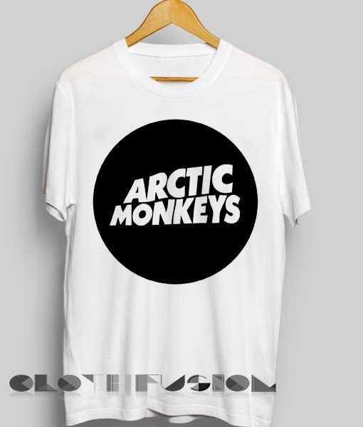 Unisex Premium Arctic Monkeys T shirt Logo Design Clothfusion