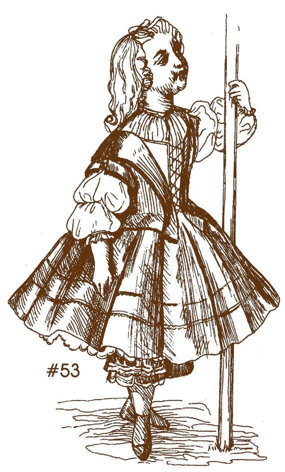 style dress patterns 1850