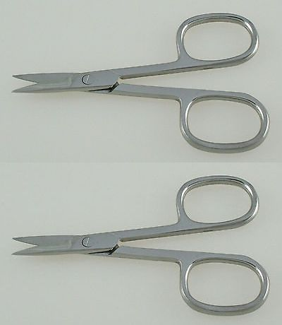 wholesale Nail: 144 Nail Scissors Straight Blades Oval Rings Wholesale Manicure Pedicure Tools BUY IT NOW ONLY: $129.0