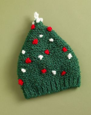 Free Pattern.  Knit hat from Lion Brand for child 3-7 years