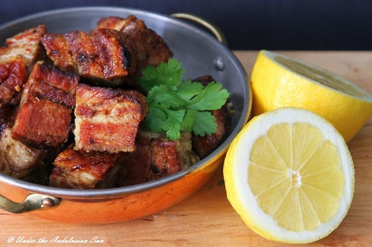 Chicharrones - Andalusian style fried pork belly