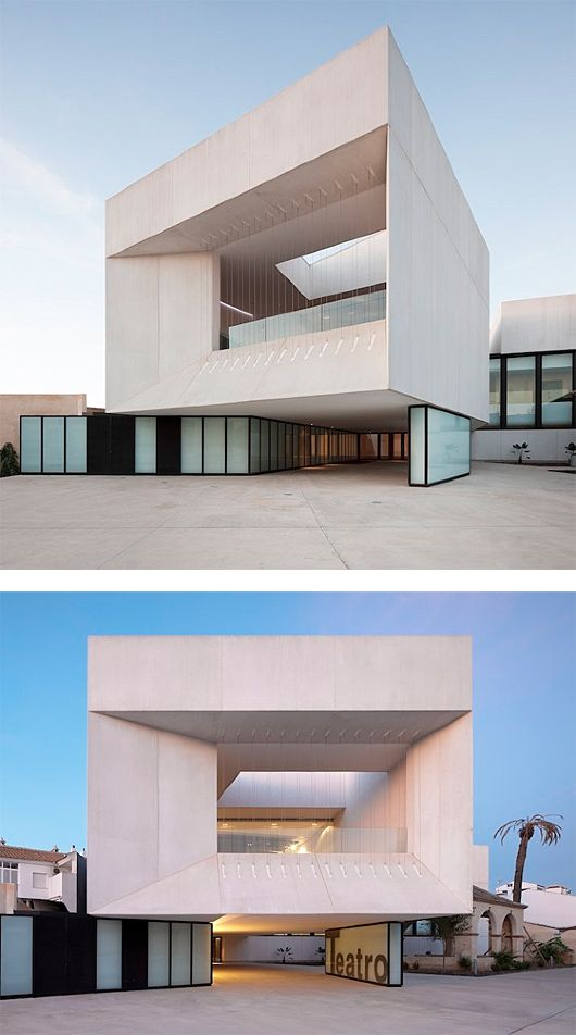 New Theatre in Almonte by Donaire Arquitectos