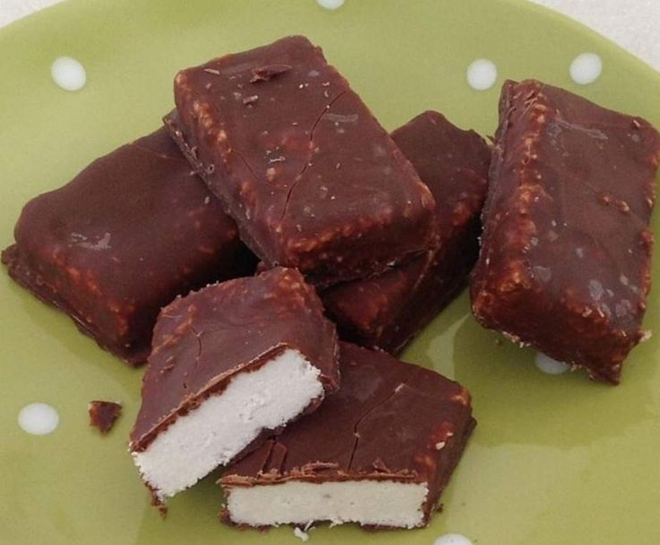 Recipe Dairy free choc coconut bars ( bounty bars) by chantilly_2006 - Recipe of category Baking - sweet