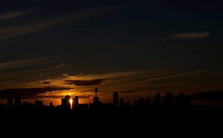 Bondi junction high rise sunset :)