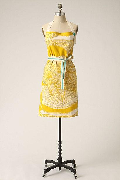 135 best lemon drop images on pinterest texture yellow for Anthropologie cuisine couture apron