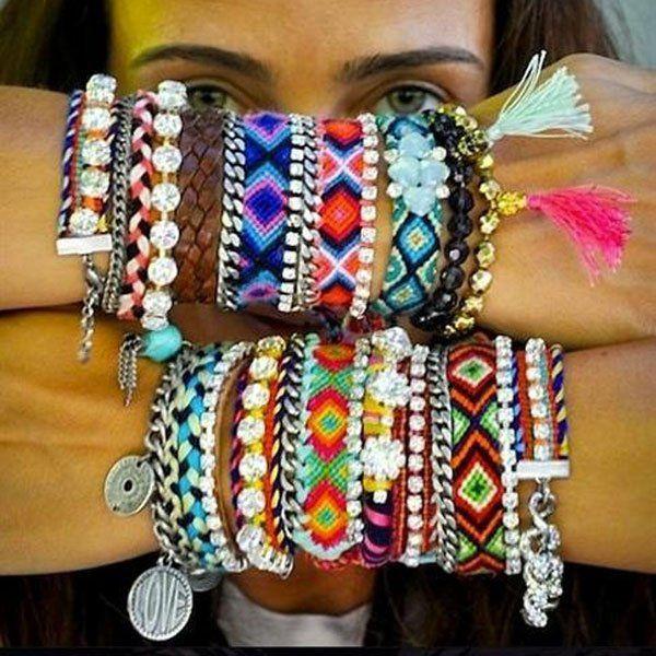 Bracelets brésiliens bracelets de l'amitié noeuds marins - Marie Claire Idées