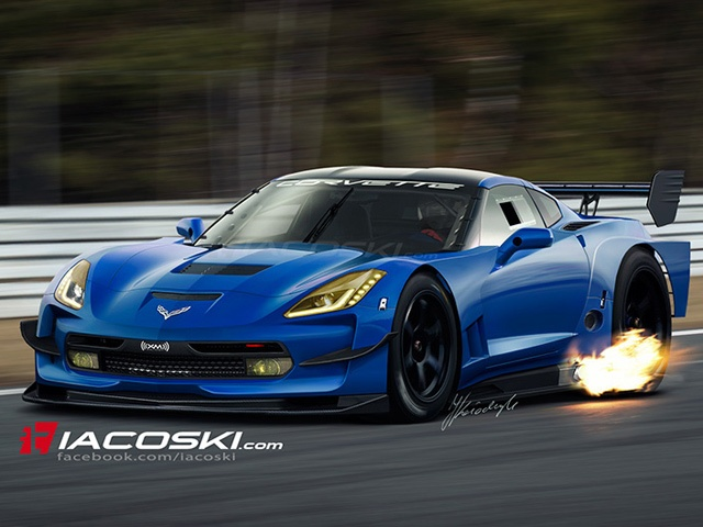 Track-Ready C7 Corvette Rendered - this is why the Corvette is a super car and the mustang is a dime a dozen.