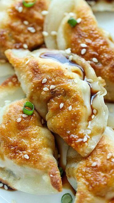 Sesame Chicken Potstickers Recipe