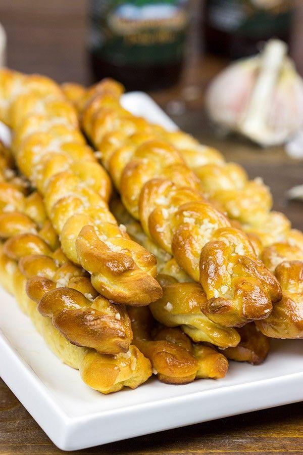 Garlic Butter Pretzel Twists | Recipe | Twists, Garlic ...