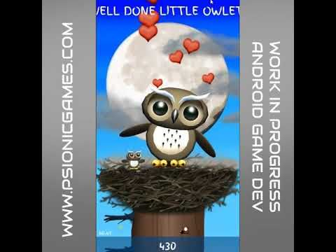 Unity Game Dev - Android jumpy birdy owl thingy http://www.psionicgames.com