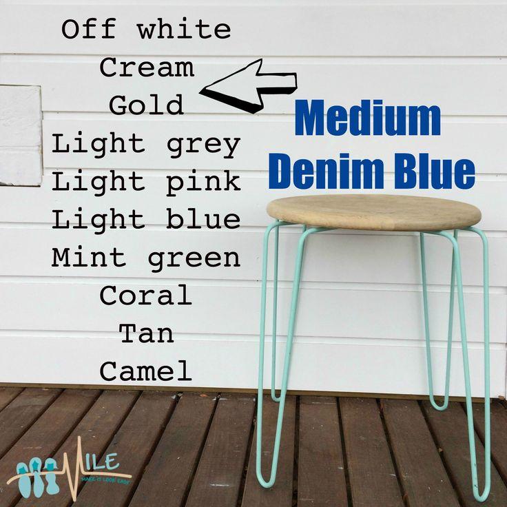 Medium denim goes with...