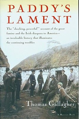 Thomas Gallagher points out in Paddy's Lament, that during the first winter of famine, 1846-47, as perhaps 400,000 Irish peasants starved, landlords exported 17 million pounds sterling worth of grain, cattle, pigs, flour, eggs, and poultry—food that could have prevented those deaths. Throughout the famine, as Gallagher notes, there was an abundance of food produced in Ireland, yet the landlords exported it to markets abroad.