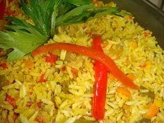 Rollitos de pollo/Arroz jardinero - Cocinando con Tia Florita