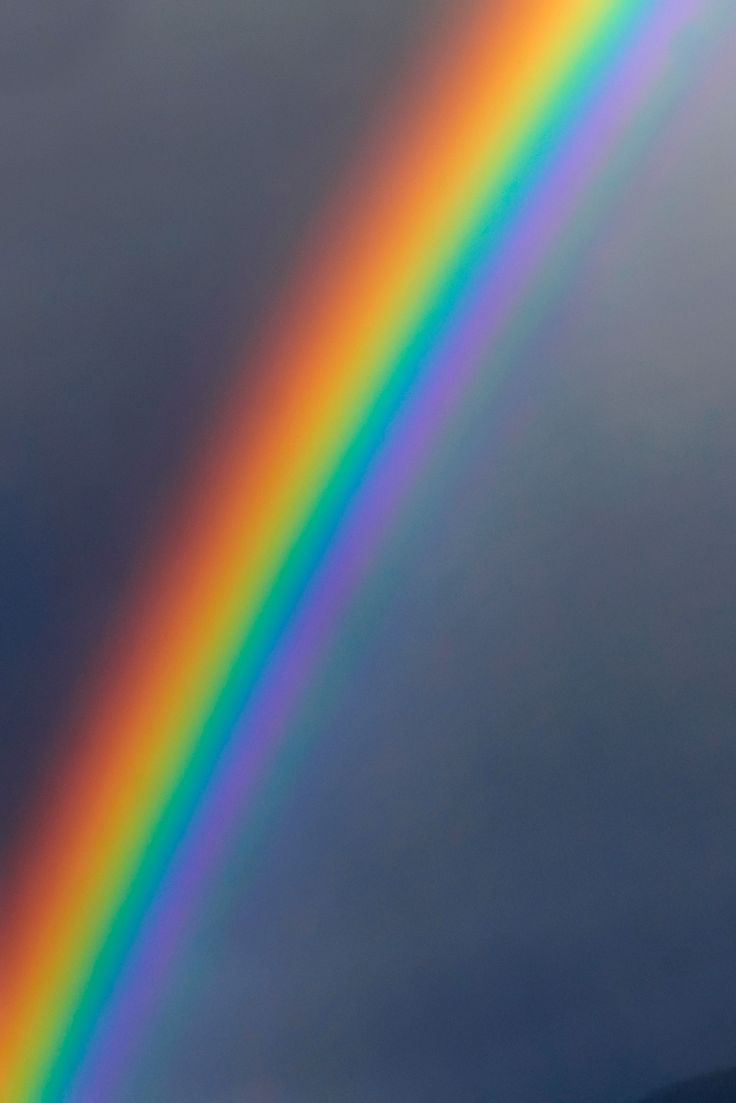 The reason why Iris is associated with rainbows is because she would move through the sky so quickly and all one could see was the lingering colors of her glittering rainbow colored robe.