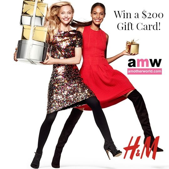 Win a 200 GC gift card to H&M Canada! #HMHoliday
