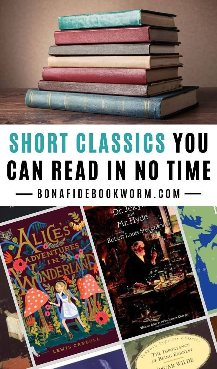 Short Classics You Can Read in No Time | Classic books ...